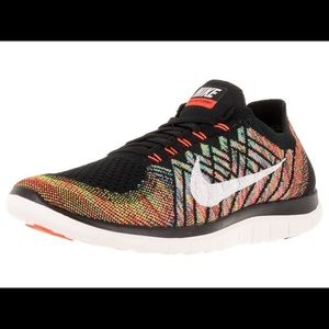 Nike 4.0 Flyknit Running Shoes Multi-Color